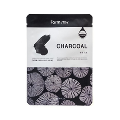 Тканевая маска - Visible Difference Mask Sheet Charcoal