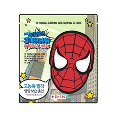 Гидрогелевая маска - Dr.119 The Amazing Spiderman Snail Nutrition Gel Mask
