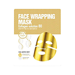 Тканевая маска - Face Wrapping Mask Collagen Solution 80