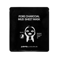 Тканевая маска - Pore Charcoal Mud Sheet Mask