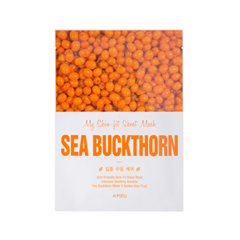 Тканевая маска - My Skin-Fit Sheet Mask Sea Buckthorn