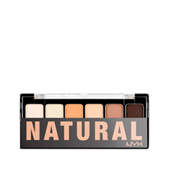 Тени для век - The Natural Shadow Palette