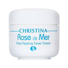 Защита от солнца - Крем Rose de Mer Post Peleing Cover Cream. Step 5