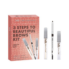 Набор для бровей - 3 Steps to Beautiful Brows Kit