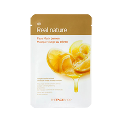 Тканевая маска - Real Nature Mask Sheet Lemon