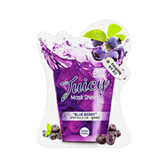 Тканевая маска - Juicy Mask Sheet. Blue Berry