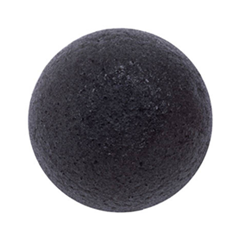 Спонж конняку - Natural Konjac Cleansing Puff (Bamboo Charcoal)