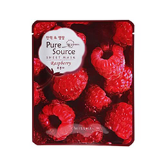 Тканевая маска - Pure Source Sheet Mask Raspberry